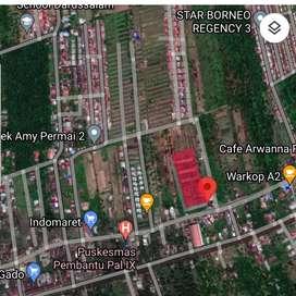 Dijual Tanah di Jalan Sui Raya Kakap Pal IX Kubu Raya