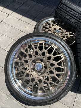 velg seeker R18 by work khusus mini cooper japanan