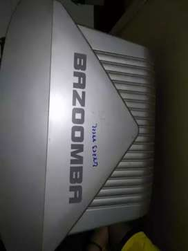 Videocon bazzomba with woofer system