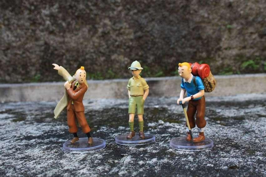 mainan action figure tin tin set A 0