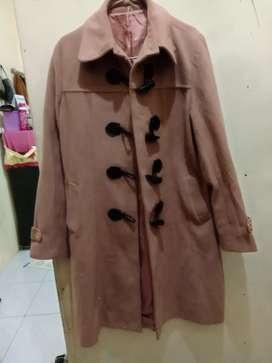 Long coat import wanita