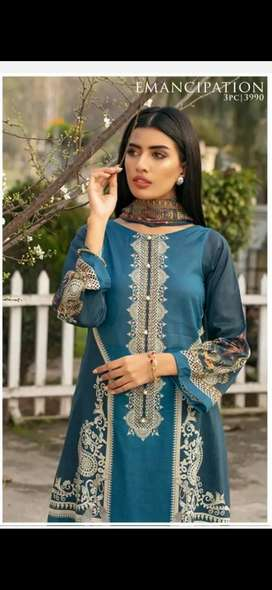 by zareen saphire get 25%sale real price 3990 discounted price 2800
