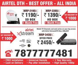 Buy new dth boxAirtel dth Settop box airtel xstream box dth connection