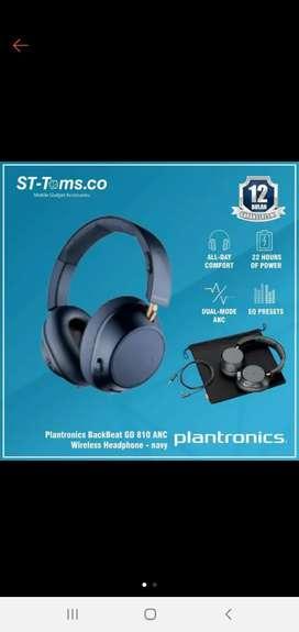 Plantronics Backbeat Go 810 ANC Navy Blue