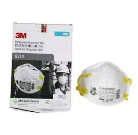 Masker 3M N95 8210 Original Anti Debu Virus Corona Box 20pcs