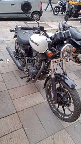 Royal enfield tbx abs break , first party, aaj pepars OK one hand