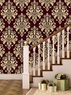 Wallpaper, flooring wooden & vinyl and fitting lbr. 0301/7506084