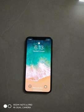 Apple iPhone X 64GB, Charger, Earpods, Box, Bill