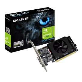 New in warranty GT 710 graphics card for sale