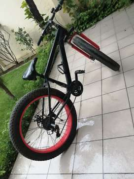 Bicycle in good condition and bought in november 2020