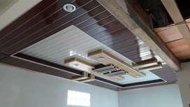 Plafon PVC paling terjangkau murah berkualitas area klaten