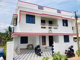 1750sqft 4.cent House Njandoorkonam Near Sreekariyam