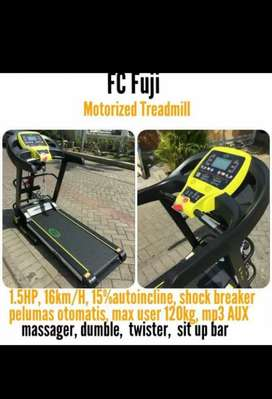 Promo treadmill elektrik fuji 5 fungsi auto incline