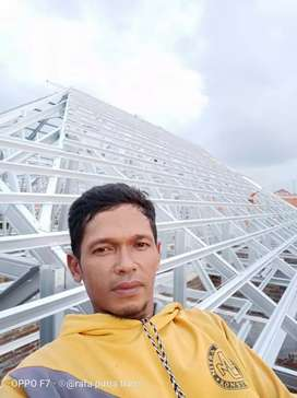 Baja ringan SNI • Plafon PVC • Jasa renovasi rumah