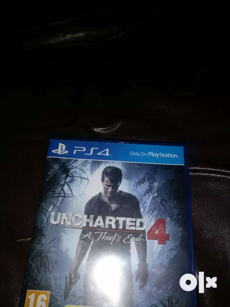 Uncharted 4 a thief's end PS4 0