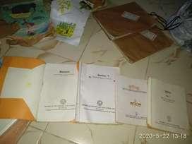 Class 9 hindi and english books