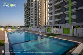 2 BHK falt in Wagholi, At 42.30 Lakh, (All incl),Project Citron