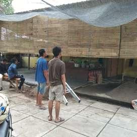 Tirai bambu menawan