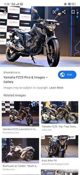 Yanaha fz25 with good.condition