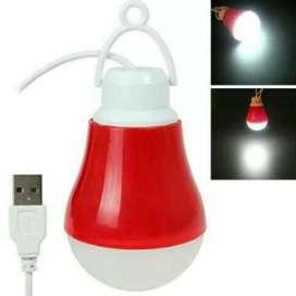 HS lampu bohlam led usb 5w