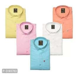 Combo of 5 shirt cotton