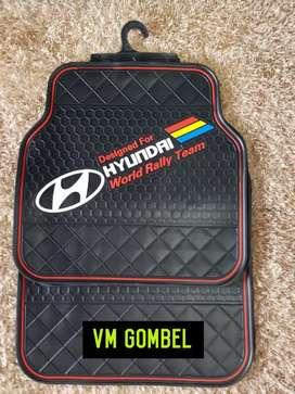 Minggu buka Ready AtVm katpet lantai Hyundai karet item