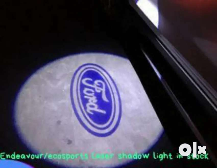 Ford endeavour side mirror puddle shadow laser light