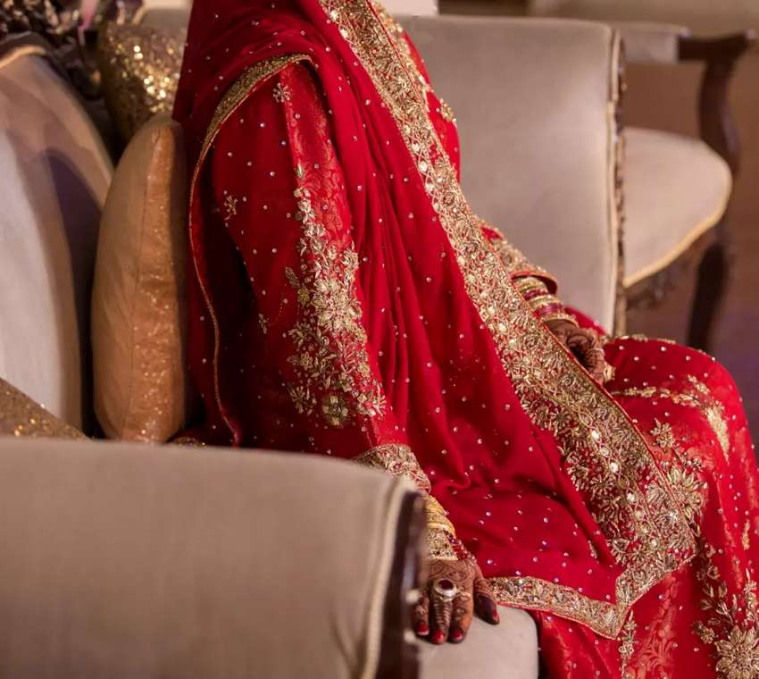 Pakistan Lance Kinari Bridal Dress (Sharara) 0