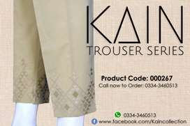 Ladies Branded Trouser Retail and Wholesale Available