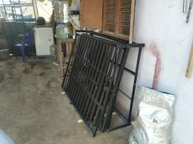 Dismantle cage manufacture for dogs
