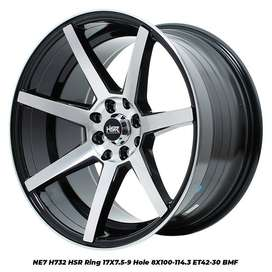stock terbaru hsr wheel type NE7 ring 17 bmf