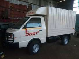 Ashok Leyland dost plus only message
