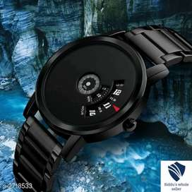 New men analog watch, 3 months warranty, water proof watch 499 only