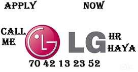LG Company full time job store keeper helper supervisor call