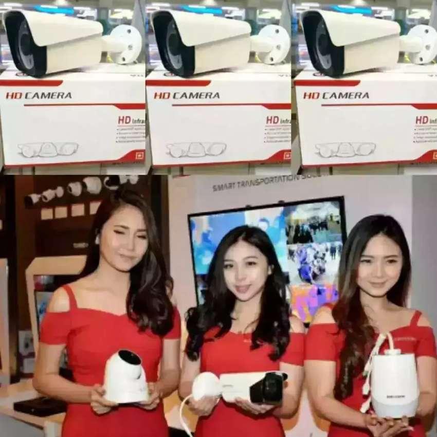 Promo CCTV free instalasi paket murah bisa online ke android/HP