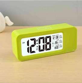 AyooDropship - Smart Timepiece Backlight Alarm Clock JP9908 - Green