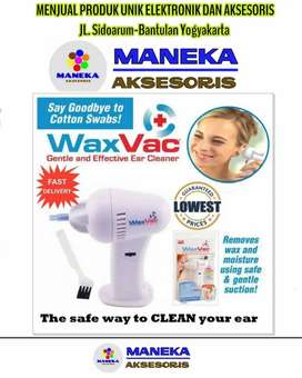 Waxvac Ear Vacuum Cleaner Alat Penyedot Pembersih Kotoran Telinga