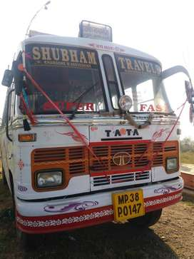 TATA 1512, Wheel Base-5195,Passenger bus 50+2 in Excellent condition,