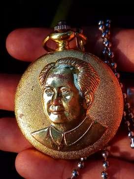 pocket watch, mao zedong