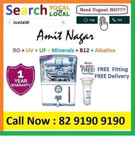 Amit18.3 AquaGrand RO Water Purifier Water Filter AC dth bed car TV Aq