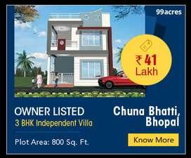 Duplexes are available near chunabhatti