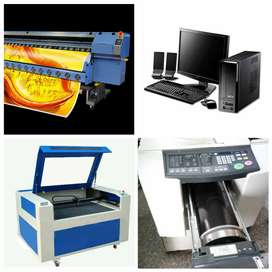 Reputed printing press with latest flex machines