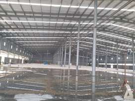 8000 to 42000 Sqft High Quality Lantered/Shed hall available for lease