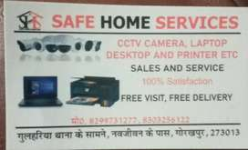 Safe Home Service all types camera