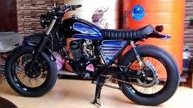 D jual motor japstyle basic tiger 2007,ss lengakap pajak tdr 2th l