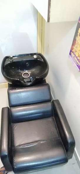 Head bath chair