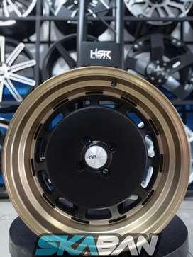 Jual Velg HSR WHEEL Nemesis Ring 17x7,5/8,5 H4(100)