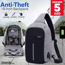 Waterproof Anti Theft Backpack Laptop Bag