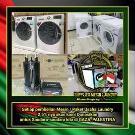 #PrayForPalestine / Mesin Laundry / Paket Lengkap Usaha Laundry