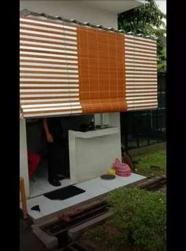 Tirai kayu krey kayu pvc 26
